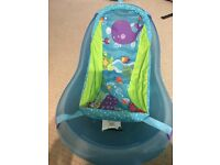 Never been used FIsherPrice baby bath