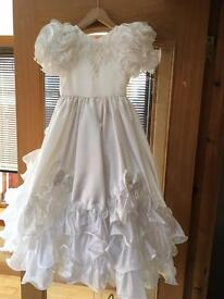 Communion dress 8-9 years