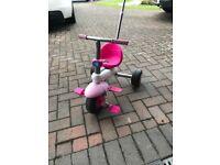 Girls Pink Trike (Age 2-5)