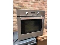 Zanussi single oven stainless steel