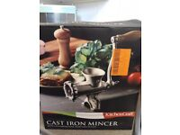 Brand new Cast Iron Mincer