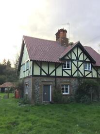Double room to let - cottage in rural location