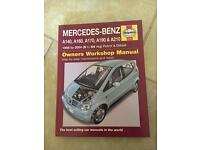 Haynes Mercedes Benz book