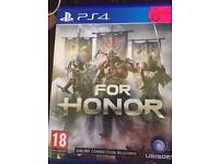 For honor ps4 like new