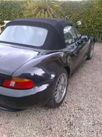 BMW Z3 CONVERTIBLE SOFT TOP (BLACK) 1999