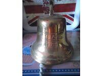 bell brass pub titanic bell