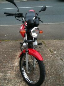 HONDA CG125 good condition ideal learner or commuter bike