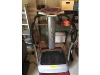 'Crazy Fit Massage' Vibration Plate, excellent condition