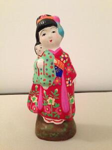 Japanese Figurine - Handcrafted/Hand Painted