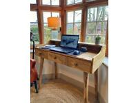 Solid wood writing desk (sold awaiting collection)