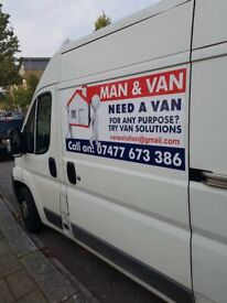 Man and Van prices from £25 (Removals, Couriers ,Delivery Driver) safe quick and easy Removal .