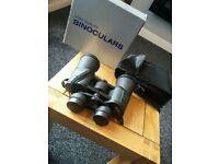 high quality binoculars 10x50 field of view 7' 122m/1000m