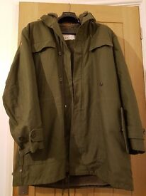 Retro german army parka 1980s