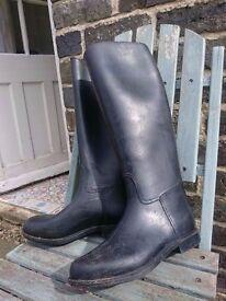 Horse riding boots, size 4 wellies, jodhpur boots