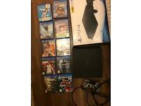 Sony Ps4 slim boxed with 10 games