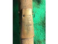 Old hardy fishing rod