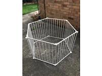 Baby Den / Safety gate / Room divider (+ Wall bracket kit) - £25