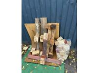 FREE pallet bits and bag of square pallet blocks