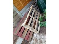 3 Wooden Pallets for FREE to Anyone.