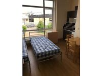 Several spacious studio flats with private parking in Mitcham CR4