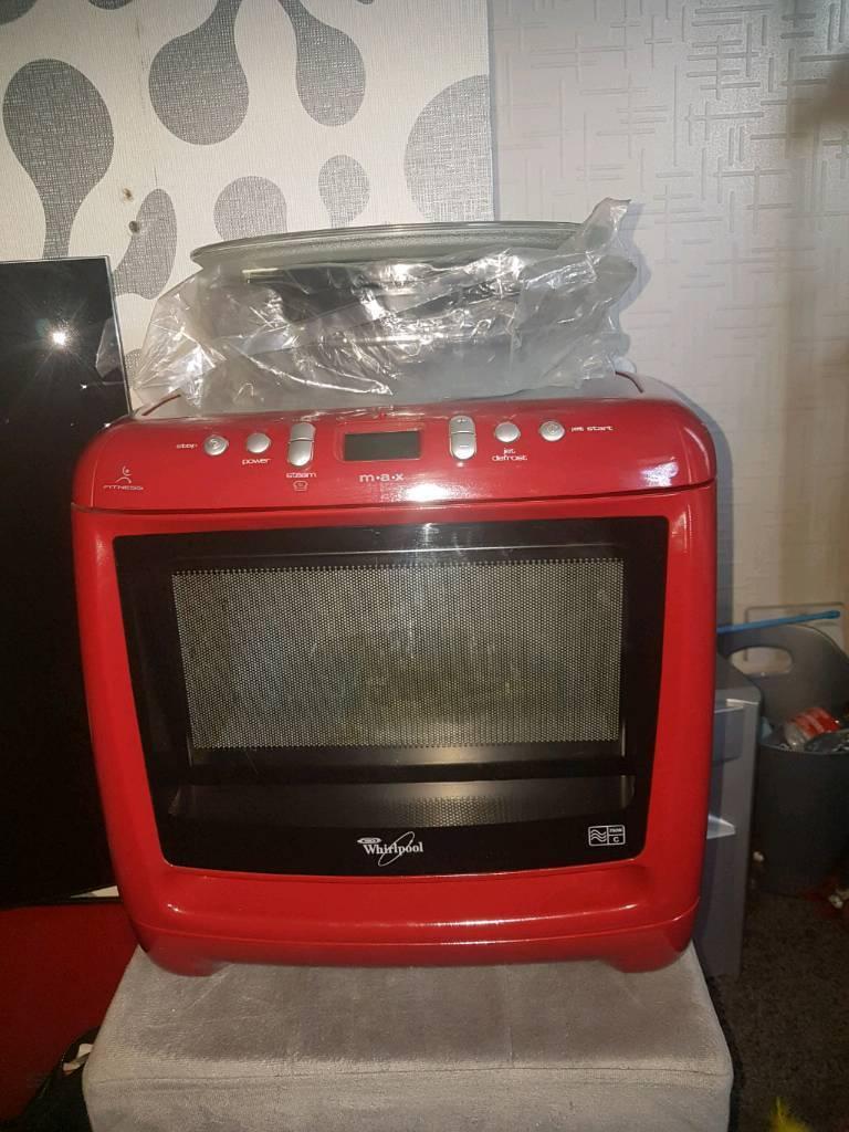 Whirlpool Max Microwave