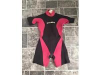 Tiki shirt wetsuit 3mm - large