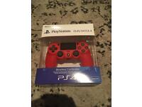 Ps4 official remote in red