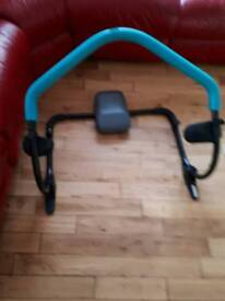 BLACK/GREEN ABS CRUNCHER GREAT FOR WORK OUTS ON THE ABS