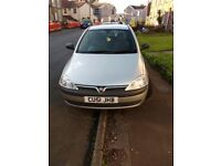 Corsa 973cc. Reliable learners car with cheap insurance