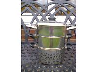 Cooking Steamer 3 tier. Stainless. Sabichi Cookware. As new condition