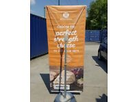 Blizzard UB701-C Outdoor Display Banner Stand