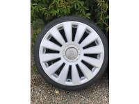 """19"""" Audi RS8 Alloy wheels and tyres"""