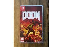 Nintendo Switch Doom - Like New - Cash or Swap!
