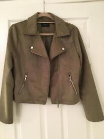 Matalan ladies suedette biker jacket size 12