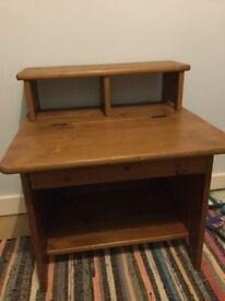 Pine Kids Desk - Vintage