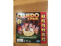Childrens game Junior Cluedo