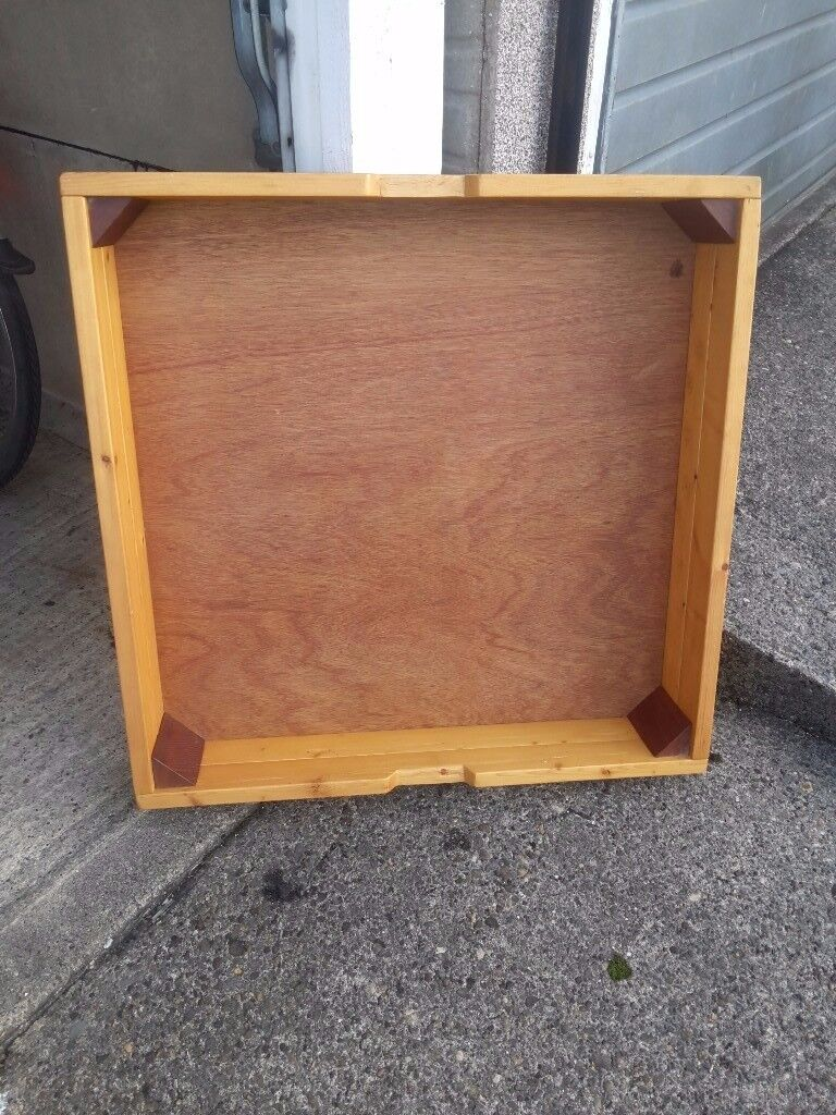 Sturdy wooden underbed drawer