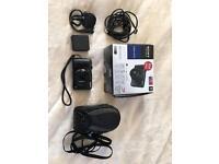 Black Sony Cyber-shot DCX-HX20V camera
