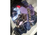 Bag of mens ties