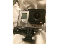 GoPro Hero3 White extra battery, charger + Bacpac LCD for extra
