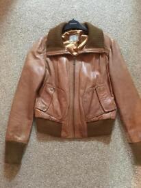 Oasis leather jacket