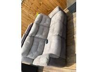DFS - Electric recliner sofas. 3 seater and 2 seater