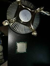 I5 2320 quadcore 3.3ghz powerfull beast with cooler lga 1155 h2 socket