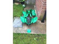 125cc green quad shell