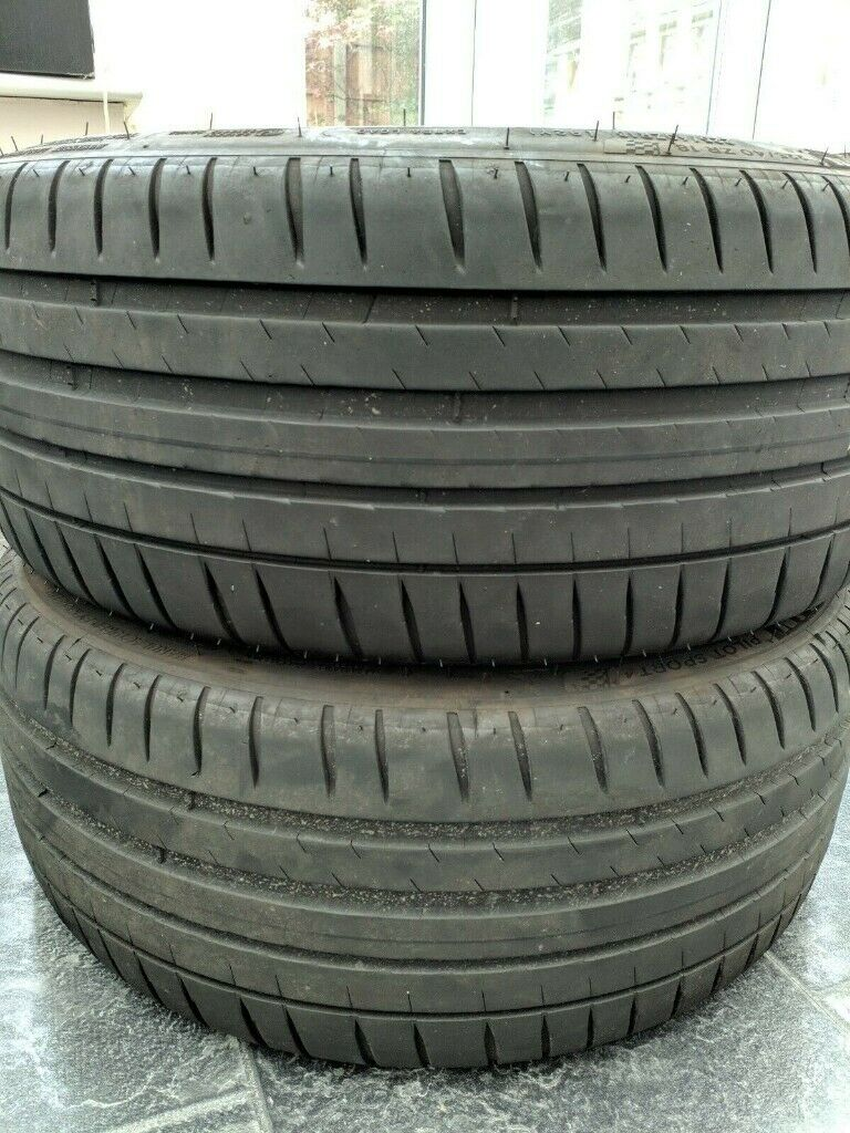 2 x michelin pilot sport 4 tyres 225 40 18 6mm in bolton manchester gumtree. Black Bedroom Furniture Sets. Home Design Ideas