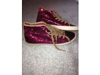 Brand New NEXT sequin ankle boots