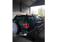 2003 NISSAN TERRANO 2.7TD BREAKING ENGINE & ALL PARTS AVAILABLE