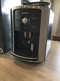 Krups Bean to Cup coffee machine and milk heater, as new