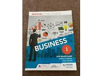 Edexcel A Level business (Includes AS) - 1st book - Ian Marcouse