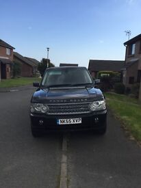 2006 Land Rover Range Rover Vogue SE TD6 DVD Full Leather FSH, cheap tax, top of the range